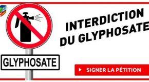 Interdiction du glyphosate : signez la pétition
